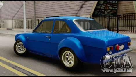 Ford Escort Mark 1 1970 für GTA San Andreas linke Ansicht