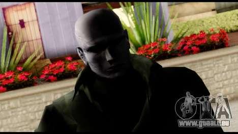 Resident Evil Skin 12 pour GTA San Andreas troisième écran