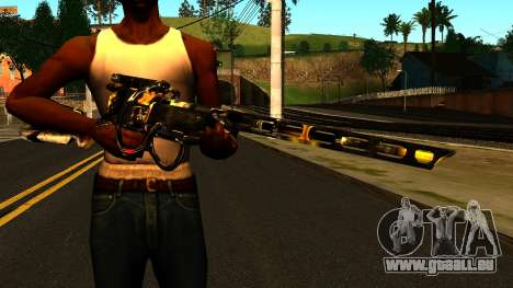 Laser Rifle Wattz 2000 für GTA San Andreas dritten Screenshot