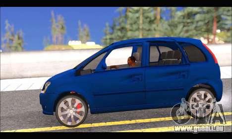 Chevrolet Meriva pour GTA San Andreas laissé vue