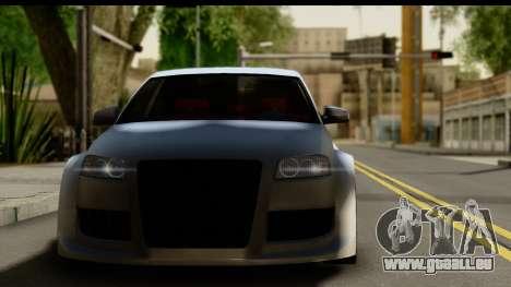 Audi A3 Tuning für GTA San Andreas zurück linke Ansicht
