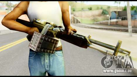 M63 from Metal Gear Solid für GTA San Andreas dritten Screenshot