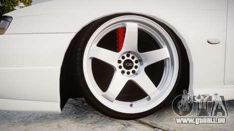 Nissan Silvia S14 Kouki Hellaflush pour GTA 4 Vue arrière
