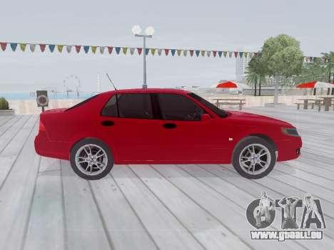 Saab 95 pour GTA San Andreas vue intérieure