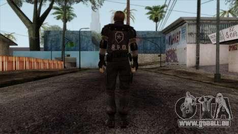 Resident Evil Skin 7 für GTA San Andreas zweiten Screenshot