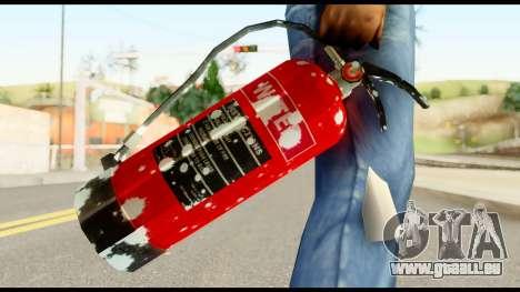 Fire Extinguisher with Blood für GTA San Andreas dritten Screenshot