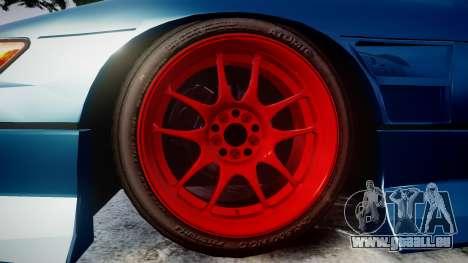 Nissan Silvia S13 1JZ für GTA 4 Rückansicht