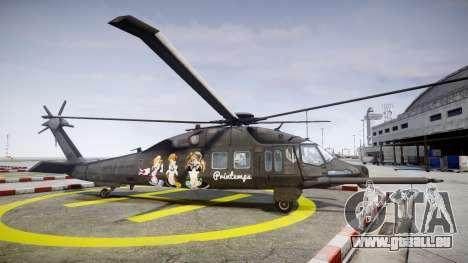 Sikorsky MH-X Silent Hawk [EPM] Printemps pour GTA 4 est une gauche