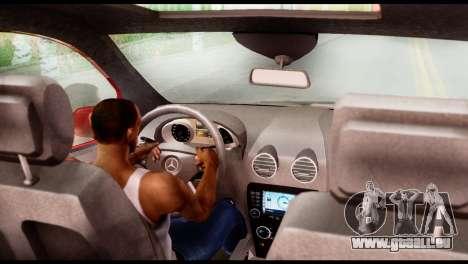 Mercedes-Benz ML500 v.2.0 Off-Road Edition pour GTA San Andreas sur la vue arrière gauche