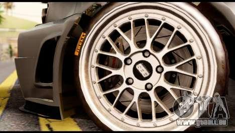 Nissan Skyline R34 Z pour GTA San Andreas sur la vue arrière gauche