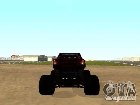 SuperMotoXL Zen MaXXimus CD 17.1 XL-HT pour GTA San Andreas vue de droite
