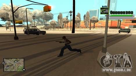 C-HUD v5.0 für GTA San Andreas sechsten Screenshot
