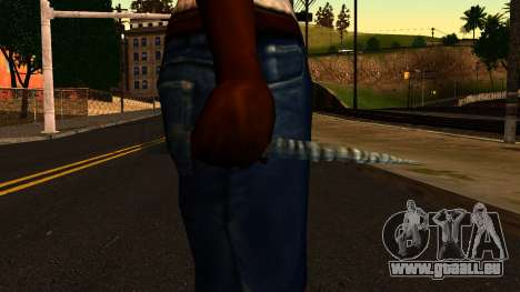 Weihnachten Messer für GTA San Andreas dritten Screenshot