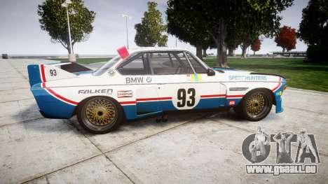 BMW 3.0 CSL Group4 [93] für GTA 4 linke Ansicht