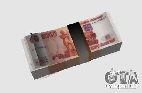 5000 roubles pour GTA San Andreas