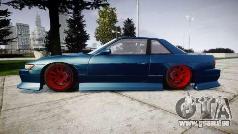 Nissan Silvia S13 1JZ pour GTA 4 est une gauche