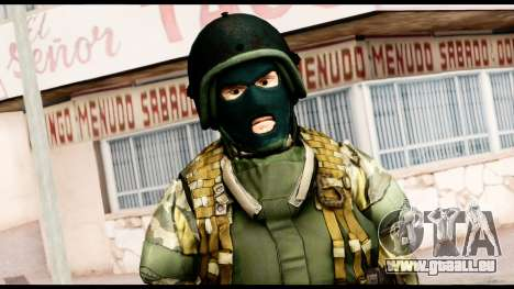 Support Troop from Battlefield 4 v1 für GTA San Andreas dritten Screenshot