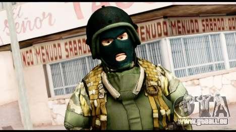 Support Troop from Battlefield 4 v1 pour GTA San Andreas troisième écran