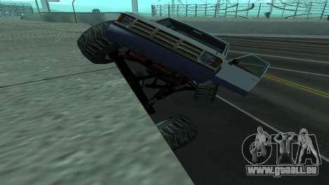 Die neue Physik des Autos v2 für GTA San Andreas dritten Screenshot