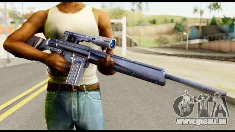 PSG1 from Metal Gear Solid pour GTA San Andreas troisième écran