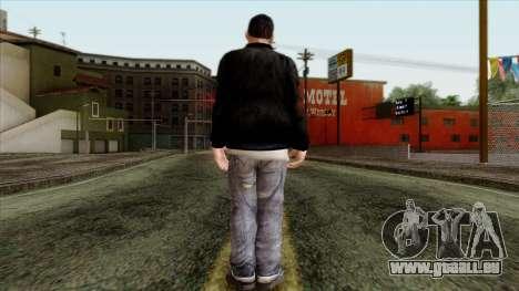 GTA 4 Skin 46 pour GTA San Andreas deuxième écran