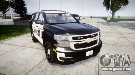 Chevrolet Tahoe 2015 County Sheriff [ELS] pour GTA 4