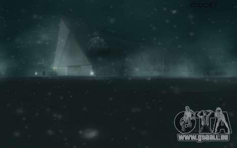 Snow Mod für GTA San Andreas fünften Screenshot