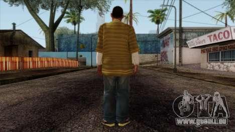 GTA 4 Skin 73 pour GTA San Andreas deuxième écran
