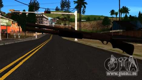 Schwarz MP-133 mit Glitter für GTA San Andreas