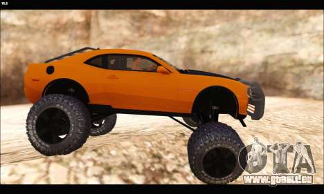 Chevrolet Camaro SUV Concept pour GTA San Andreas sur la vue arrière gauche