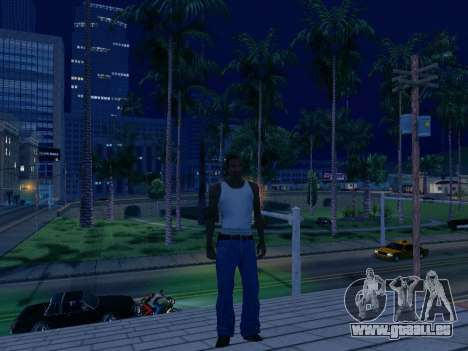 Graphique Mod Eazy v1.2 pour les faibles PC pour GTA San Andreas troisième écran