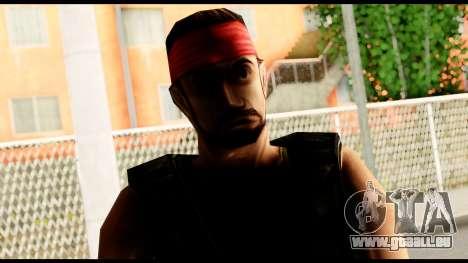 Counter Strike Skin 1 pour GTA San Andreas troisième écran