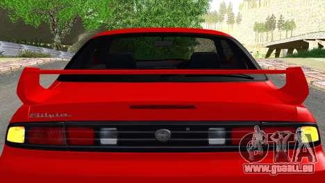 Nissan Silvia S14 Ks pour GTA San Andreas vue intérieure
