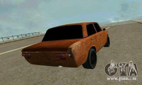 VAZ 2101 Ratlook v2 für GTA San Andreas Innenansicht