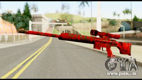 Sniper Rifle with Blood pour GTA San Andreas