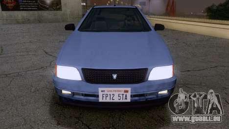 GTA V Ingot pour GTA San Andreas vue de droite