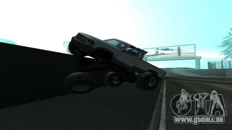 Die neue Physik des Autos v2 für GTA San Andreas zweiten Screenshot