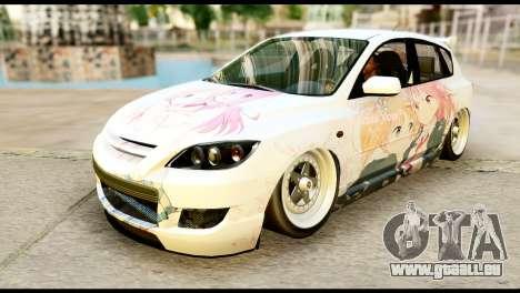 Mazda Speed 3 [Sakura Trick Itasha] pour GTA San Andreas