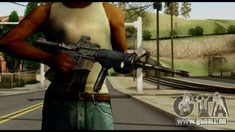 SOPMOD from Metal Gear Solid v2 für GTA San Andreas dritten Screenshot