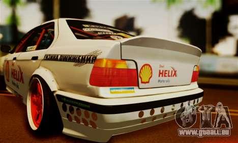 BMW M3 E36 Darnitsa Bandits pour GTA San Andreas vue arrière