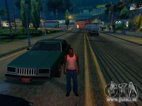 Graphique Mod Eazy v1.2 pour les faibles PC pour GTA San Andreas deuxième écran