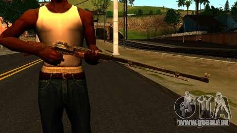 Vanne (Metro: Last Light) pour GTA San Andreas troisième écran