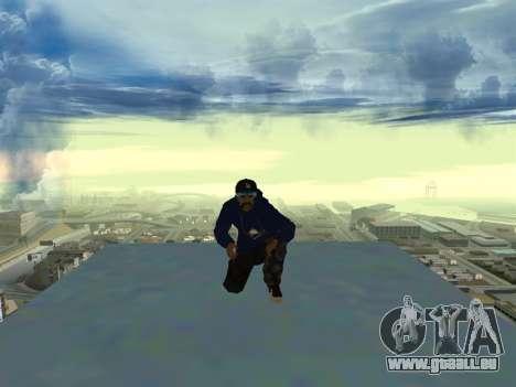 SFR1 New Skin pour GTA San Andreas troisième écran