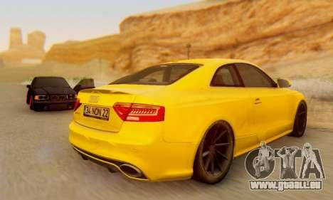 Audi RS5 (RC) für GTA San Andreas rechten Ansicht