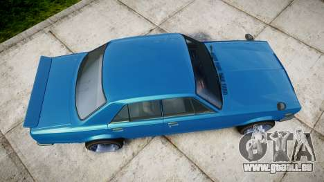Nissan Skyline 2000GT pour GTA 4 est un droit