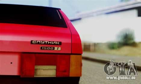 VAZ 2108 Hobo pour GTA San Andreas vue de droite