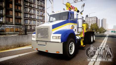 HVY Biff Indonesian Jasamarga Tow Truck [ELS] pour GTA 4