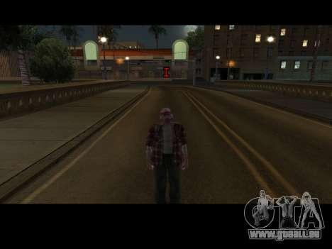 Skin Changer pour GTA San Andreas deuxième écran