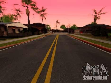 Verbesserte textur von Straßen für GTA San Andreas