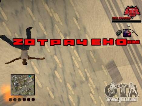 C-HUD Raisers pour GTA San Andreas cinquième écran